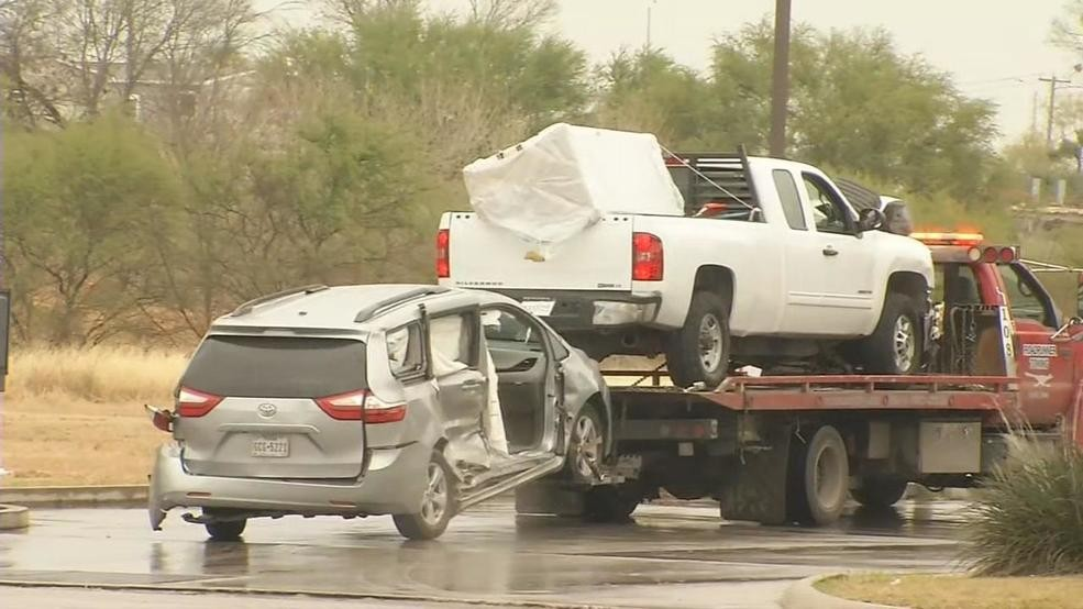 Theft At Walmart Ends In Crash At Intersection With Stolen Pickup