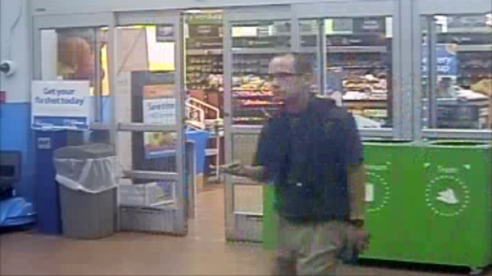 095a307c1 Covering Floresville  Police looking for Wal-Mart thief
