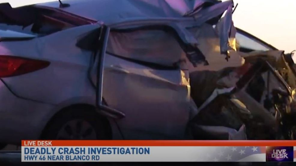 Two people killed in five-vehicle fatal accident on Highway 46 | WOAI