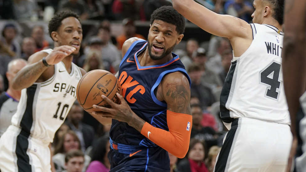 1712755f2ce 5 things to watch  Thunder vs. Spurs