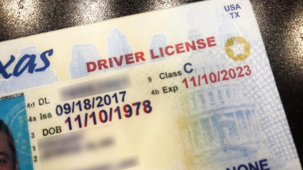 issuing authority for texas drivers license