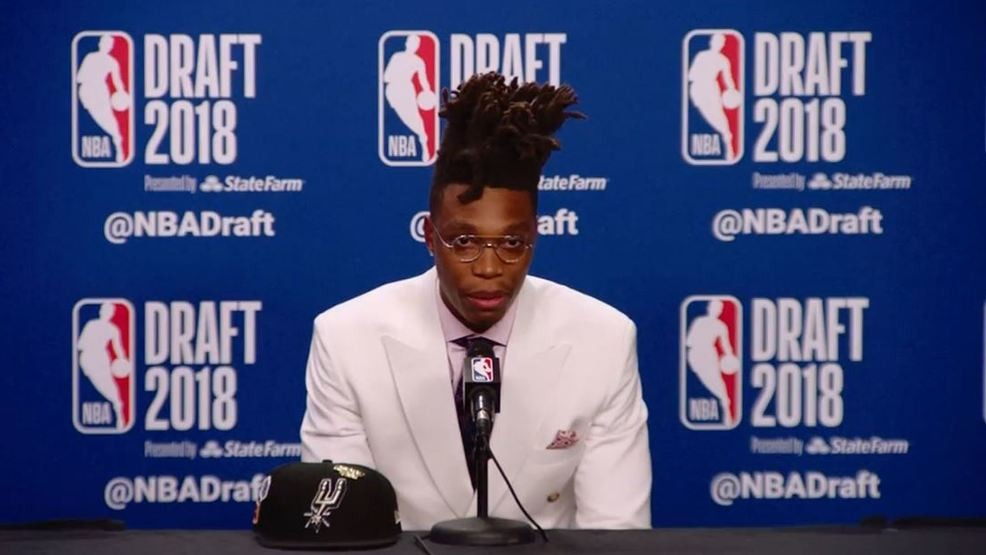 19daa2ae8c5 Spurs select Miami s Lonnie Walker IV with 18th pick in 2018 NBA Draft