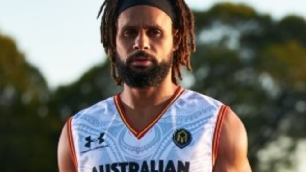 best service 947c6 0a2a7 LOOK: Spurs' Patty Mills reveals awesome Indigenous ...