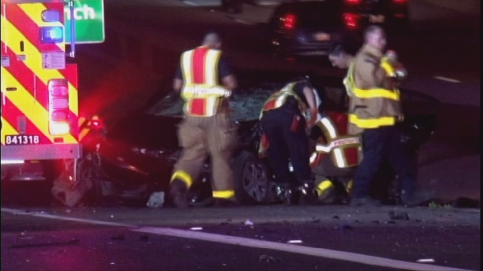 Firefighters cut family of 4 out of vehicle after horrific