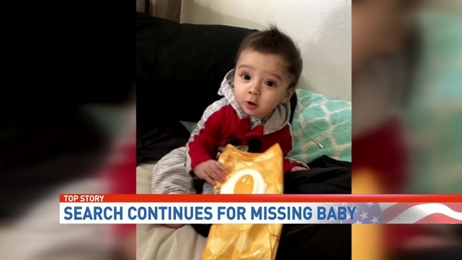 77e056434bc Family of missing 8-month-old King Jay Davila continues search with flyers