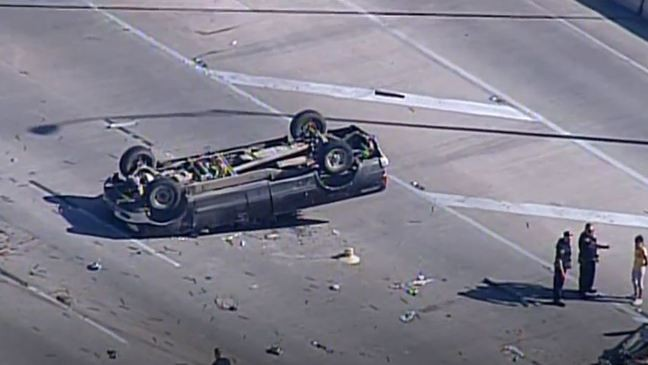 Man ejected, killed in rollover accident on highway   WOAI