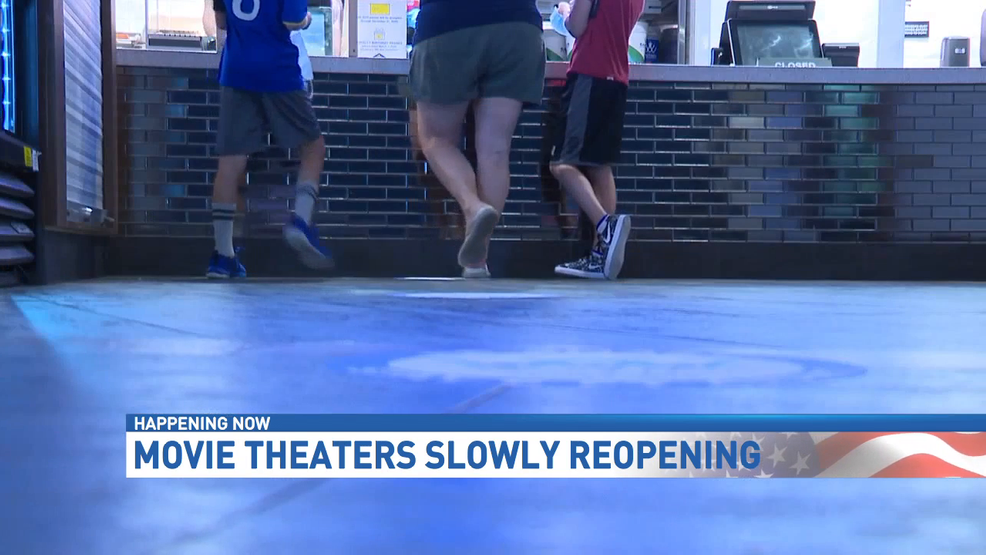 Movie Theaters Begin To Slowly Reopen Woai