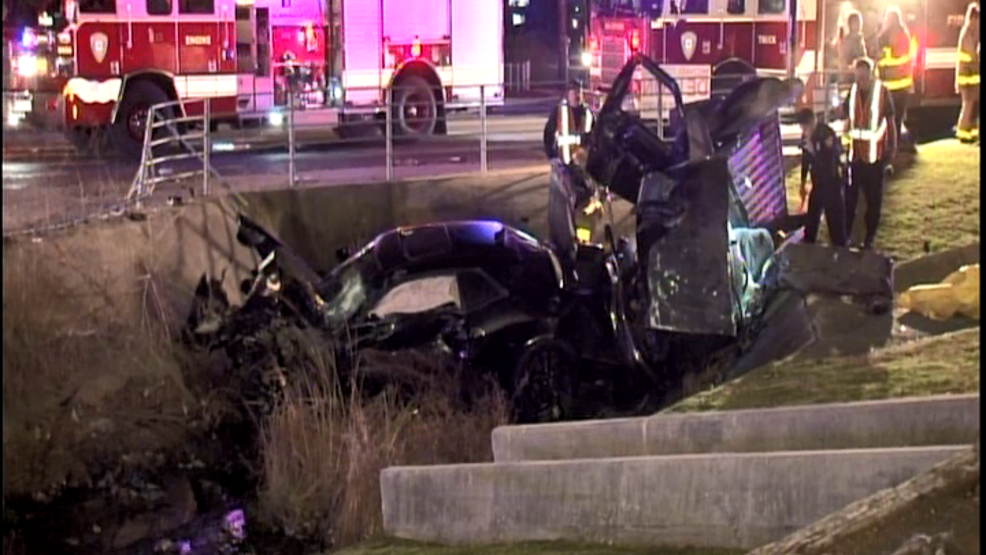 One man dead after car hits his pickup truck at intersection, both