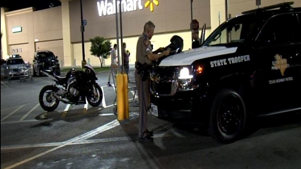 Motorcyclist disappears into North Side Walmart after high