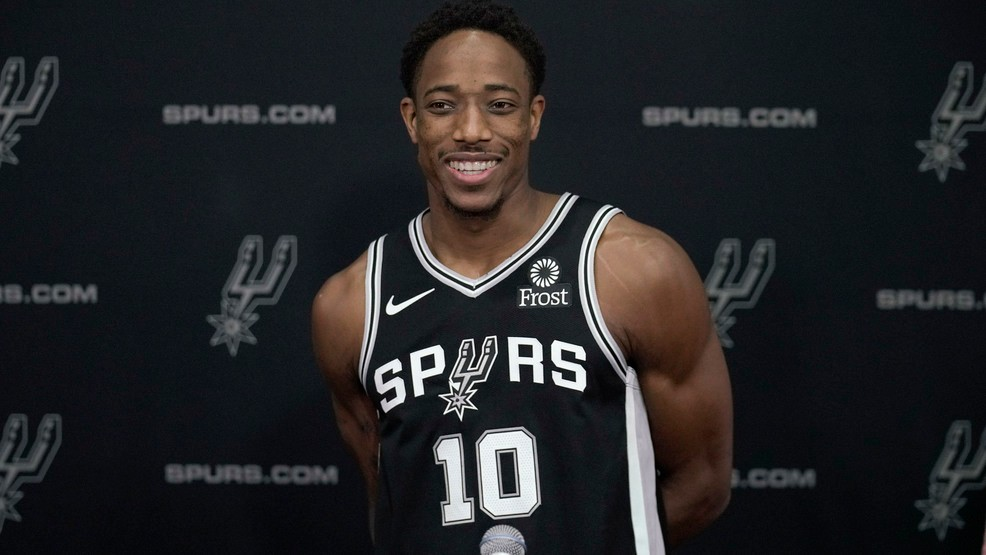 competitive price c1ce5 975cd Spurs' DeRozan continues to speak out on the importance of ...