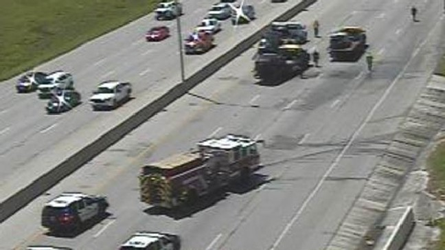 TRAFFIC ALERT: I-35 South closed due to major accident in