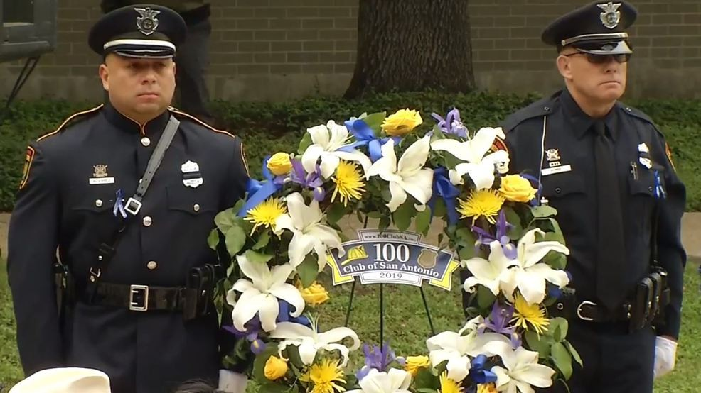 San Antonio Police Department honors 59 fallen officers that