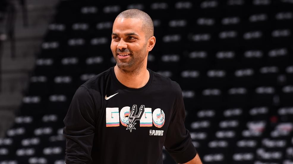 buy popular 04b1e 19cc7 REPORT: Spurs to retire Tony Parker's jersey in November | WOAI