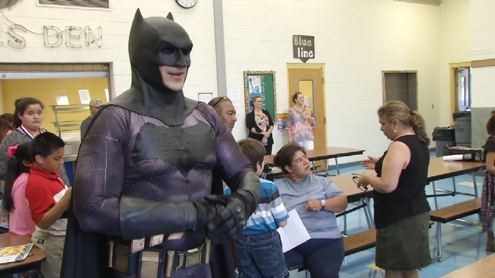 Batman of San Antonio inspires youth   WOAI