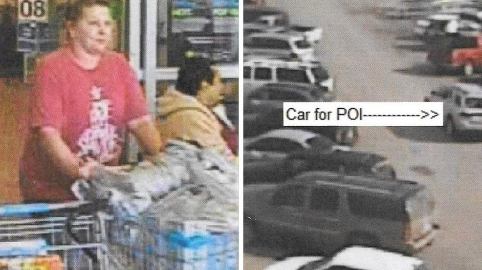 6e5382684 Police searching for Walmart wallet thief