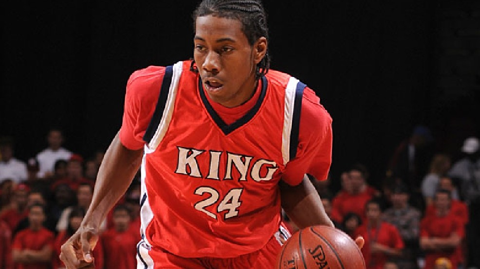 best service b949f aec2a Throwback video: Kawhi Leonard posterizes defender in high ...