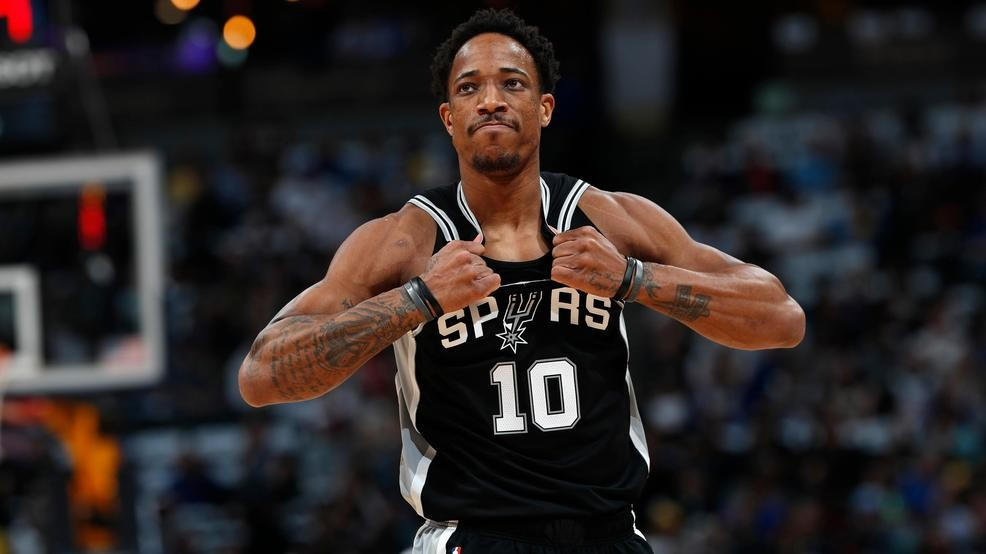 premium selection 485ff d87be REPORT: DeRozan wanted skit on Jimmy Kimmel Live! to not air ...
