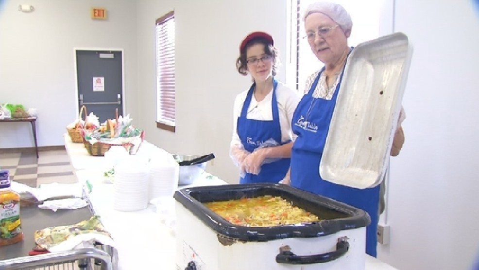 Church Opens Soup Kitchen To Feed The Homeless Woai